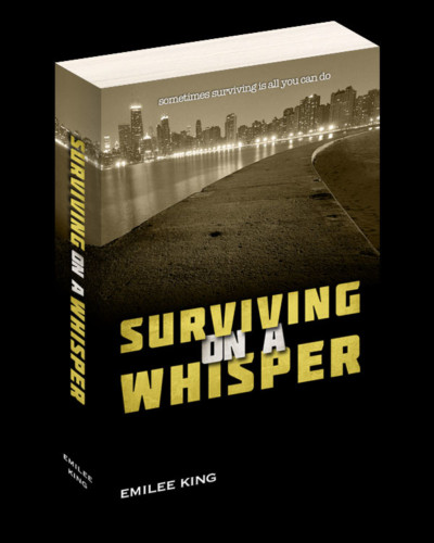 Surviving On A Whisper Book Cover